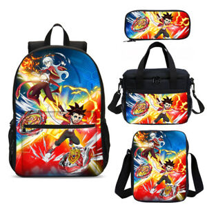 Beyblade Burst Book Backpack Cooler Lunch Bags Sling Bag Pen Case Kids Gifts Lot