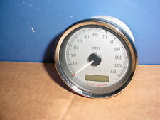 Harley Davidson Silver Face Speedometer 67261-08 47053 Miles