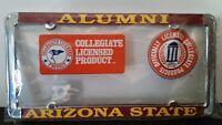 Arizona State Sun Devils Alumni Metal License Plate Frame - Officially Licensed