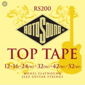 Rotosound RS200 Top Tape Guitar Strings