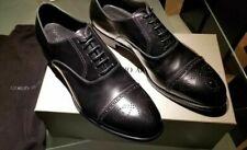 NEW $1395 Giorgio Armani Shoes LEATHER SOLE Mens Size 11.5