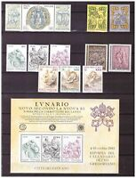 S15546) Vatican MNH 1982 Complete Year Set 13v + S/S