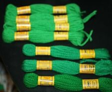 New DMC Wool Yarn Green Tapestry Color # 7902 7897 7609 7910  -DDX