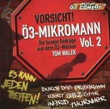 Ö3 MIKROMANN Vol. 2 (Tom Walek) Audio-CD NEU+OVP