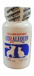 Cobalequin Chew Tabs 45 ct for Cats and Small Dogs under 22 lbs EXP: 03/2022