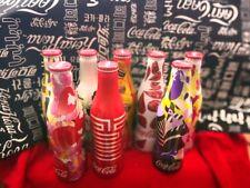 rare china coca cola we8 limited edition Aluminum bottle empty