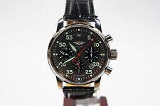 Russian Mechanical Chronograph Poljot 31681 watch AVIATOR Su C-37 Berkut Black 1