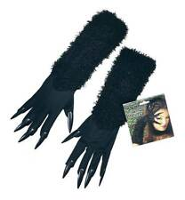 CAT GLOVES WITH CLAWS, FANCY DRESS ACCESSORY