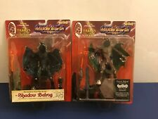 RARE Lot of 2 LOTR Forest Balrog and Shadow Balrog Action Figure Tolkien NEW