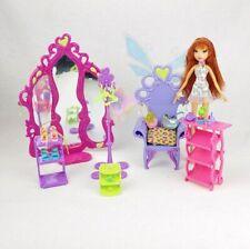 Mattel Winx Club 2008 Glam Magic Enchantix Wardrobe Playset With Bloom Doll!