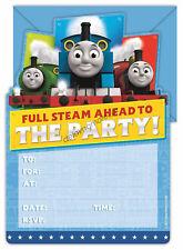 Thomas & Friends Trains Birthday Party Supplies 16 Invitations + Envelopes KIDS