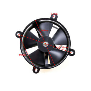 12V 6 inch thermo Radiator COOLING FAN 125CC 200CC Pit Trial dirt bike atv Quad