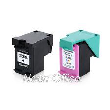 302XL Black & Colour Ink Cartridge 17mls Each For HP ENVY 4527 Printer