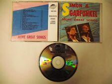 SIMON & GARFUNKEL  More Great Songs - CD