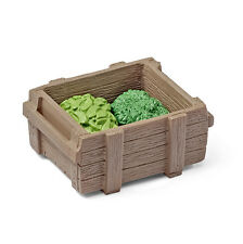 Schleich 42239 Leaves Feed Set Crate Accessory for Toy Model Animals - NIP