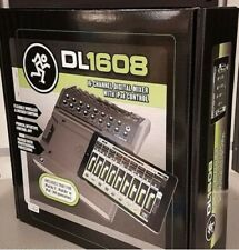Mackie Dl1608 iPad-Controlled 16Ch Digital Live Sound Mixer with Lightning