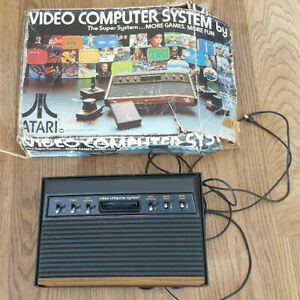 Atari 2600 Woody 6 Switch Console with Box