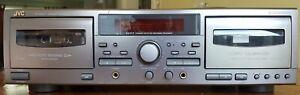 JVC Cassette Deck TD-W317 Refurbished Full Working Order