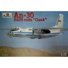 ANTONOV AN-30 'CLANK' SOVIET AERIAL CARTOGRAPHY AIRCRAFT 1/72 AMODEL 72103