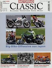 Motorrad Classic 3/04 2004 BMW R 100 RS Egli-Kawasaki Suzuki Katana Indian Scout