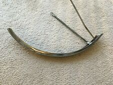 Sears Original Bicycle front fender chrome some surface rust  nice shape photos