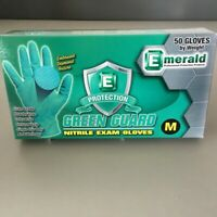 Medium Nitrile Gloves Powder Free 50 Ct FAST FREE SHIP Order by 3pm EST 6MIL