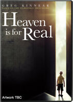 Heaven Is for Real DVD (2014) Greg Kinnear, Wallace (DIR) cert PG ***NEW***