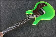 Dan acrylic electric guitar ,crystal electric guitar Quality assurance green