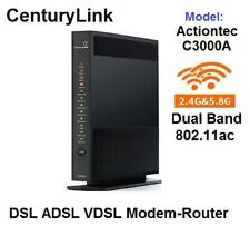 Actiontec CenturyLink C3000A DSL VDSL2 Bonded 5GHZ Wireless AC Modem Router