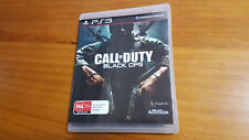 COD Call of Duty Black Ops PS3 Sony Playstation 3 Game