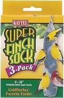 Kaytee Super Finch Sock PDQ 3Pk