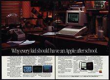 1985 APPLE IIc Personal Computer - Every Kid Should Have An Apple - VINTAGE AD