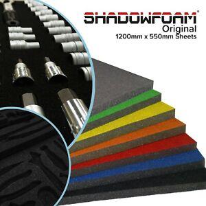 Shadow Foam Sheet | Dual Colour Black & Grey Foam | Foam Drawer Insert