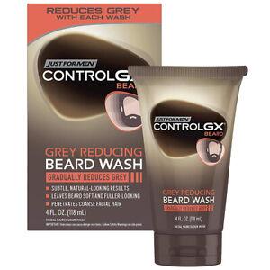 Just For Men CONTROL GX GREY REDUCING BEARD WASH Facial Hair Color Wash GRADUALL