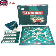 Original scrabble board game Crossword Funny Family Children Party Game Travel