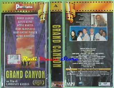 film VHS GRAND CANYON cartonata SIGILLATA Lawrence Kasdan PANORAMA (F75) no dvd
