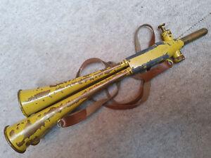 "Old, odd East German Schalmei (shawn) 4 bells! GDR ""Martin signal"" horn trumpet"