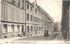 CPA Paris Le Rue Christophe Colomb (96376)