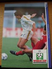 1990 masterfile SUPER STARS pagina/Card (A4): Belgio-SCIFO, Enzo