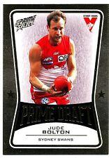 2013 AFL SELECT PRIME DRAFT GOLD Jude Bolton Sydney Swans  No. 051 of 145