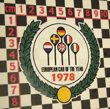 1978 Car of the Year Sticker for Porsche 928