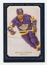 08-09 UPPER DECK MASTERPIECES BLUE #59 MARCEL DIONNE 26/50 KINGS *56312