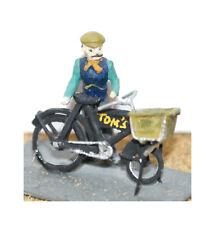Entrega Bicicleta Hombre Figura F18 sin Pintar Escala Oo Langley Modelo De Gente