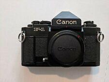 Canon New F-1 F1 Eye Level 35mm SLR Film Camera Body CLA'd
