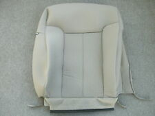 Ford F-150 XLT tan cloth right front seat back cover 2009-2011