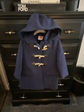 John Lewis Age 3 Boy Girl Navy Blue Duffle Coat