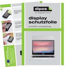 2x asus Chromebook flip 2 lámina protectora mate protector de pantalla Lámina dipos