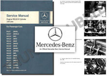 Mercedes M110 ENGINE Service Workshop Repair Manual 280 S E SE CE SL SLC TE C