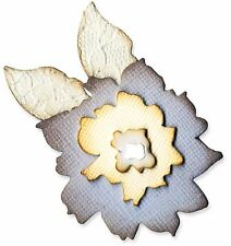 Sizzix Flower Layers & Leaf medium die #658228 Retail $11.99 by Rachel Bright