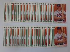 Ryan Klesko 1991 Upper Deck Final Edition Baseball Rookie Card #8F - 50 Card Lot